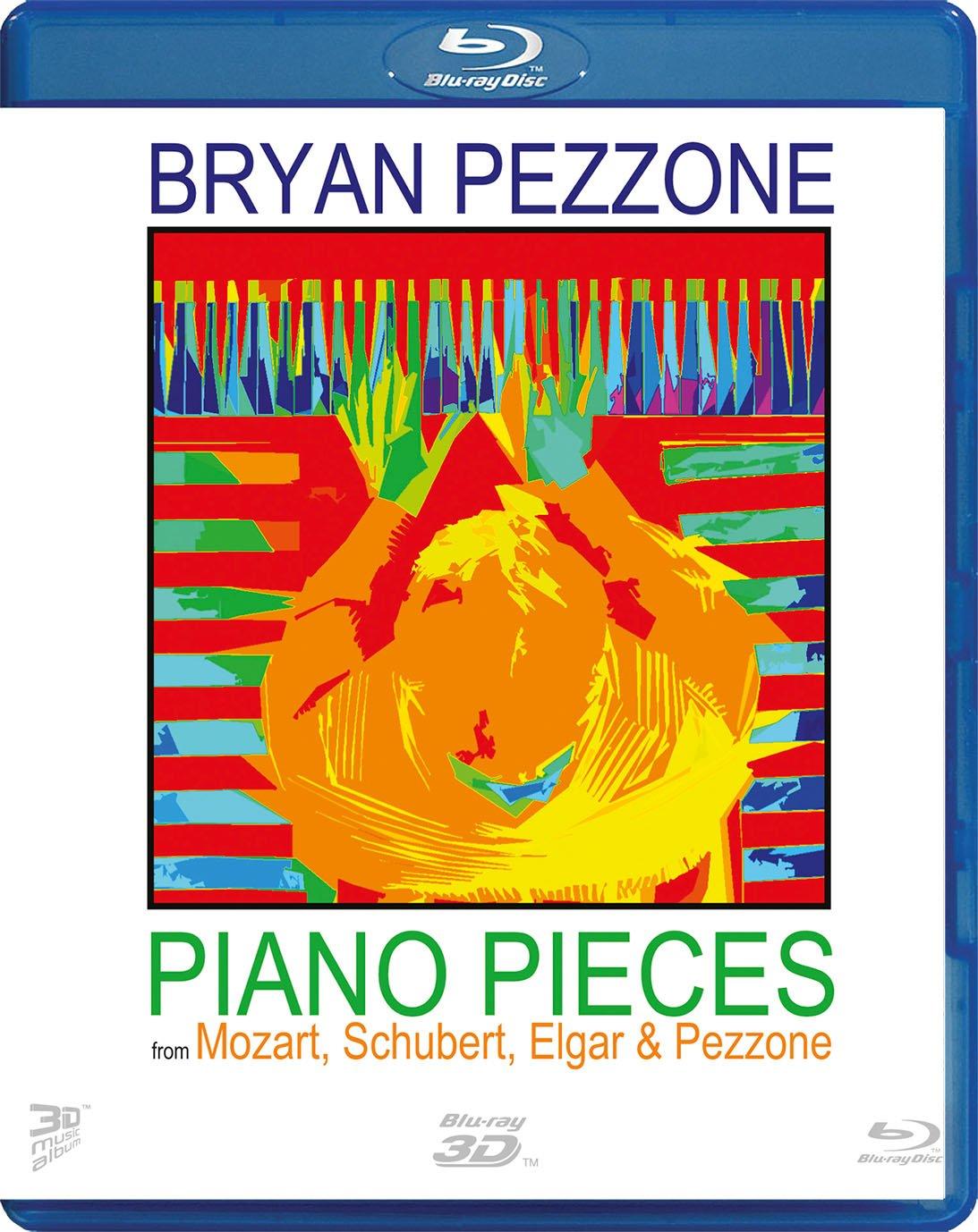 Blu-ray : Brian Pezzone - Piano Pieces From Mozart & Schubert (Blu-ray)