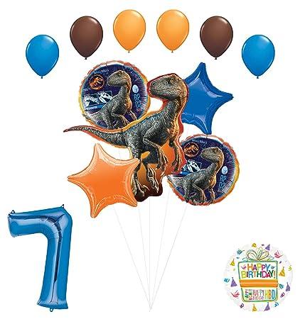 Amazon.com: Jurassic World - Ramo de globos para fiestas de ...