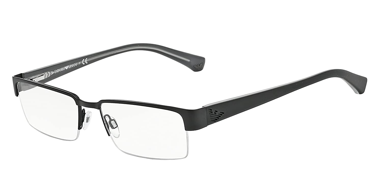 Amazon.com: Emporio Armani EA 1006 Men\'s Eyeglasses Matte Black 53 ...