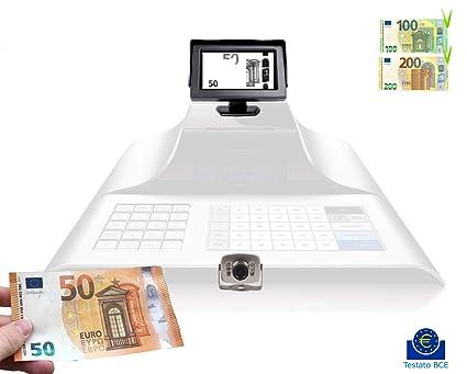 Detector billetes falsos cámara infrarrojos