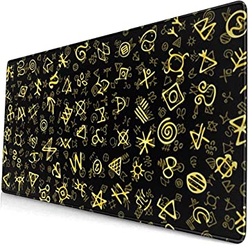 Caóticos símbolos Antiguos Dorados Encantos Signos mágicos ...