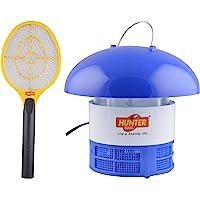Hunter Mosquito Repellant Machine and Mosquito Bat Set (Multicolour, 2-Pieces, Plastic)