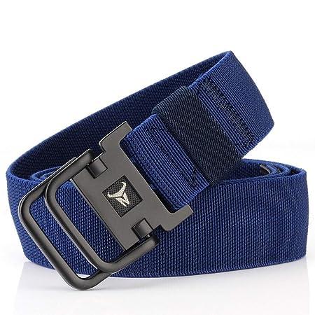la migliore vendita regno unito vendite all'ingrosso Mifusanahorn Cintura a Doppia Fibbia con Fibbia in Alluminio ...