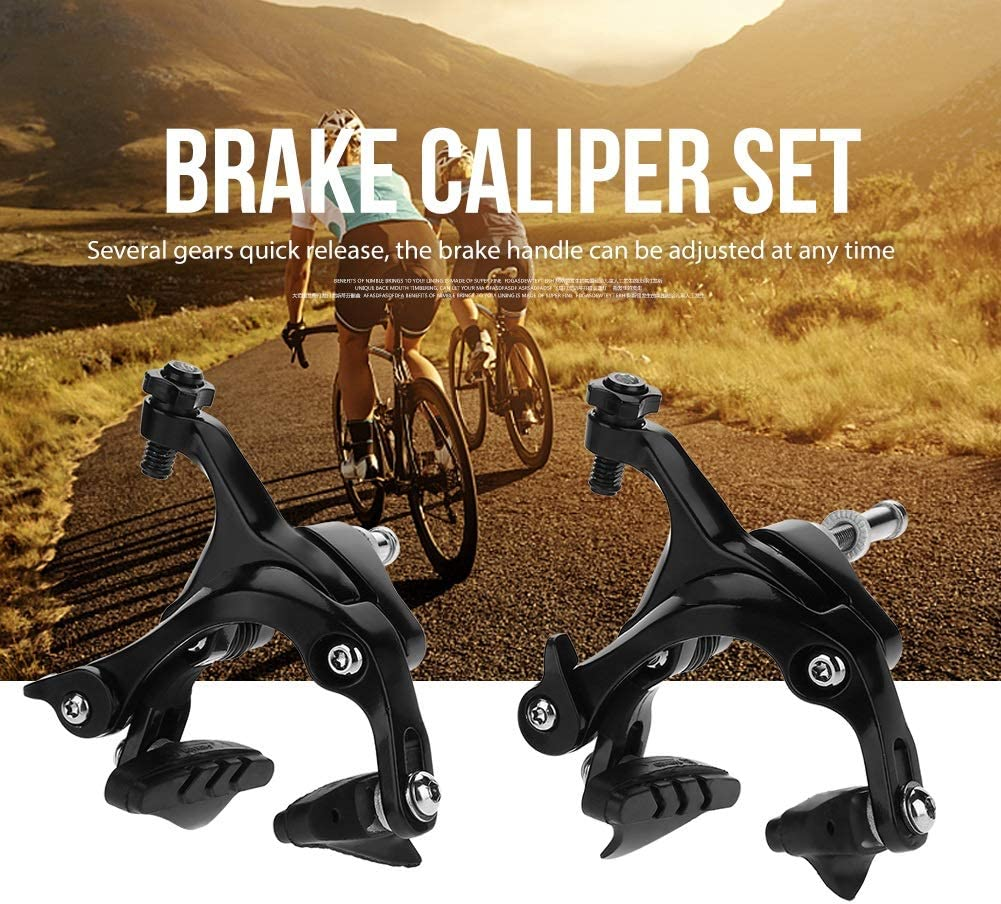 DEWIN Bike Brake Caliper Set Aluminum Alloy Dual-Pivot Front /& Rear Brake for Road Bike C Brakes