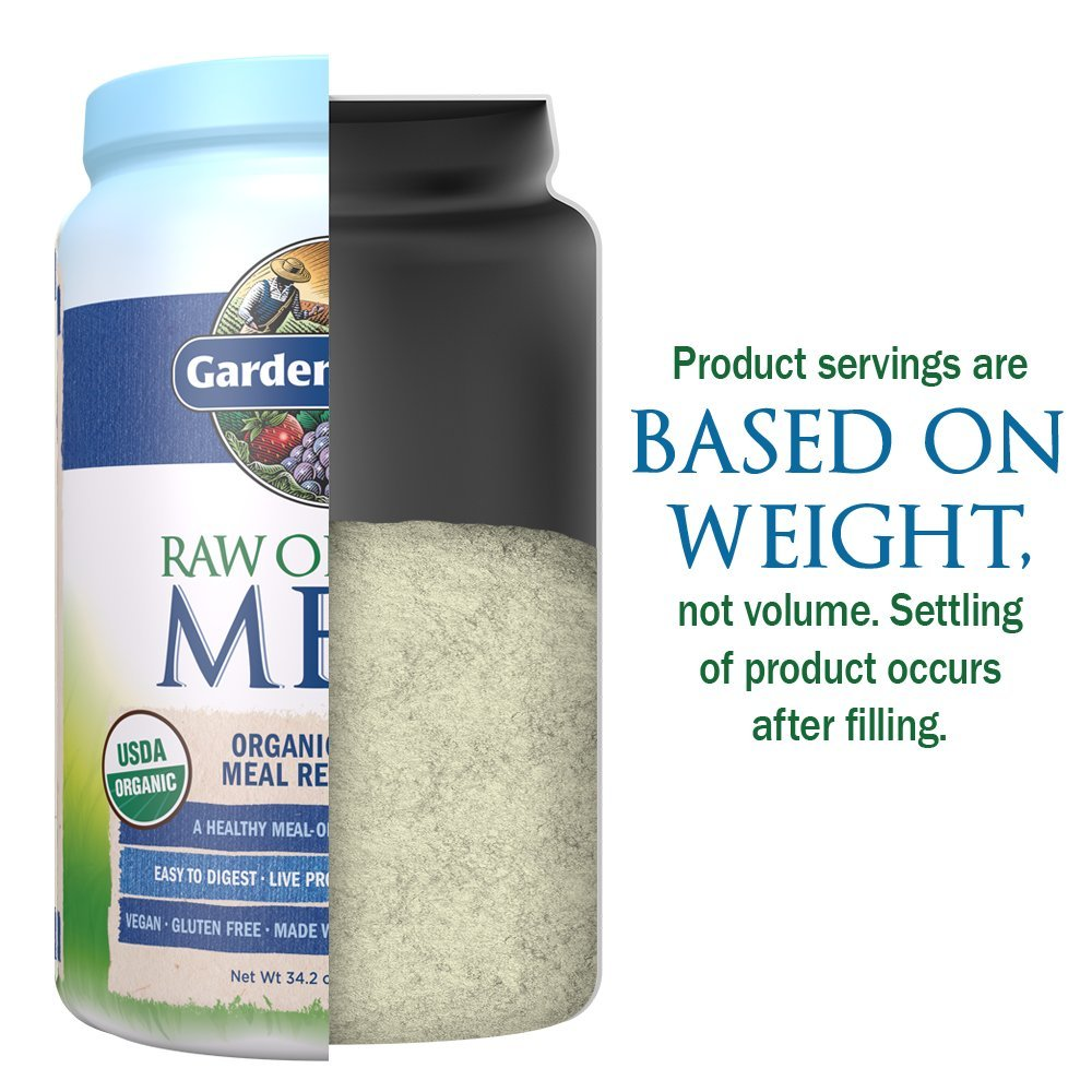 Galleon Garden Of Life Meal Replacement Organic Raw Plant Based Protein Powder Vanilla