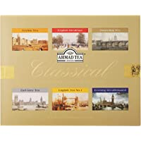 Ahmad Tea Classical Variety Gift Box, 60 Foil Enveloped Teabags