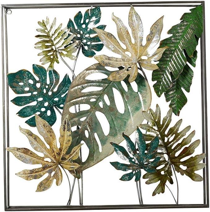Wanddekoration Wandschmuck Wanddeko Wandskulptur BAUM aus Metall