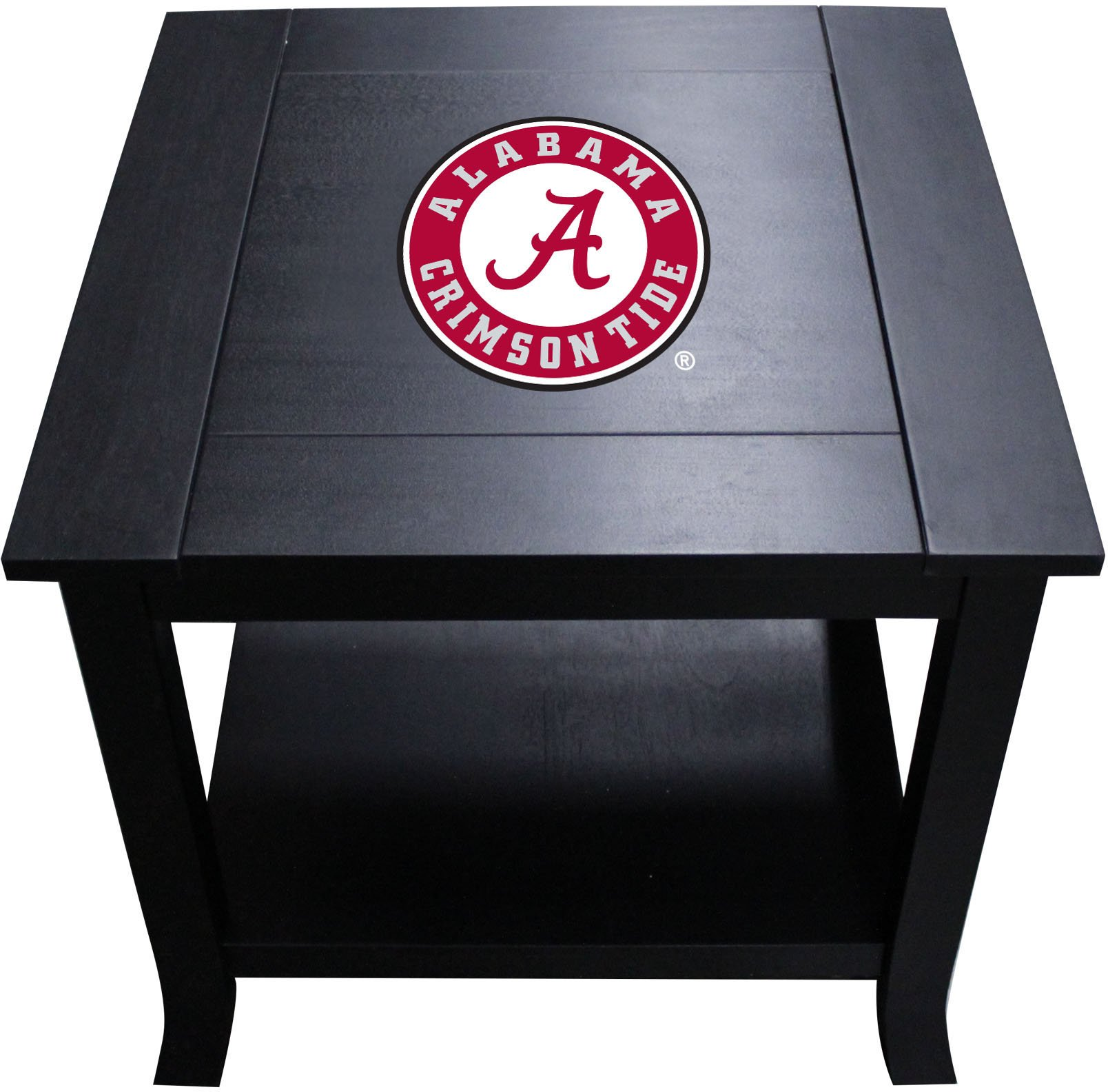 Imperial Officially Licensed NCAA Furniture: Hardwood Side/End Table, Alabama Crimson Tide by Imperial