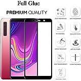 Shopalfa™ 6D Premium Edge to Edge Full Glue Tempered Glass for Samsung Galaxy A9 (2018)