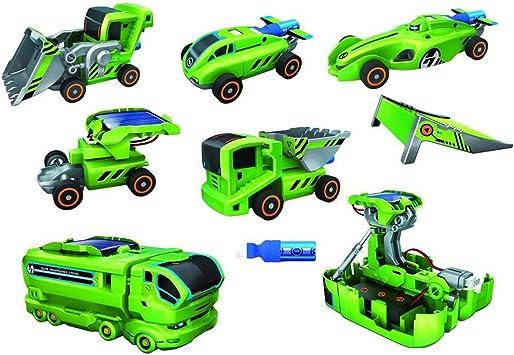 ShopMeFast 7 in 1 Educational Toy Solar DIY Robot Kit , Multi Color