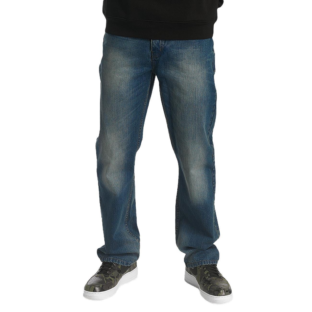 Rocawear Männer Sport-Loose Fit Jeans Crime in blau