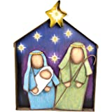 The Round Top Collection - Merry & Bright Jeweled Nativity - Metal