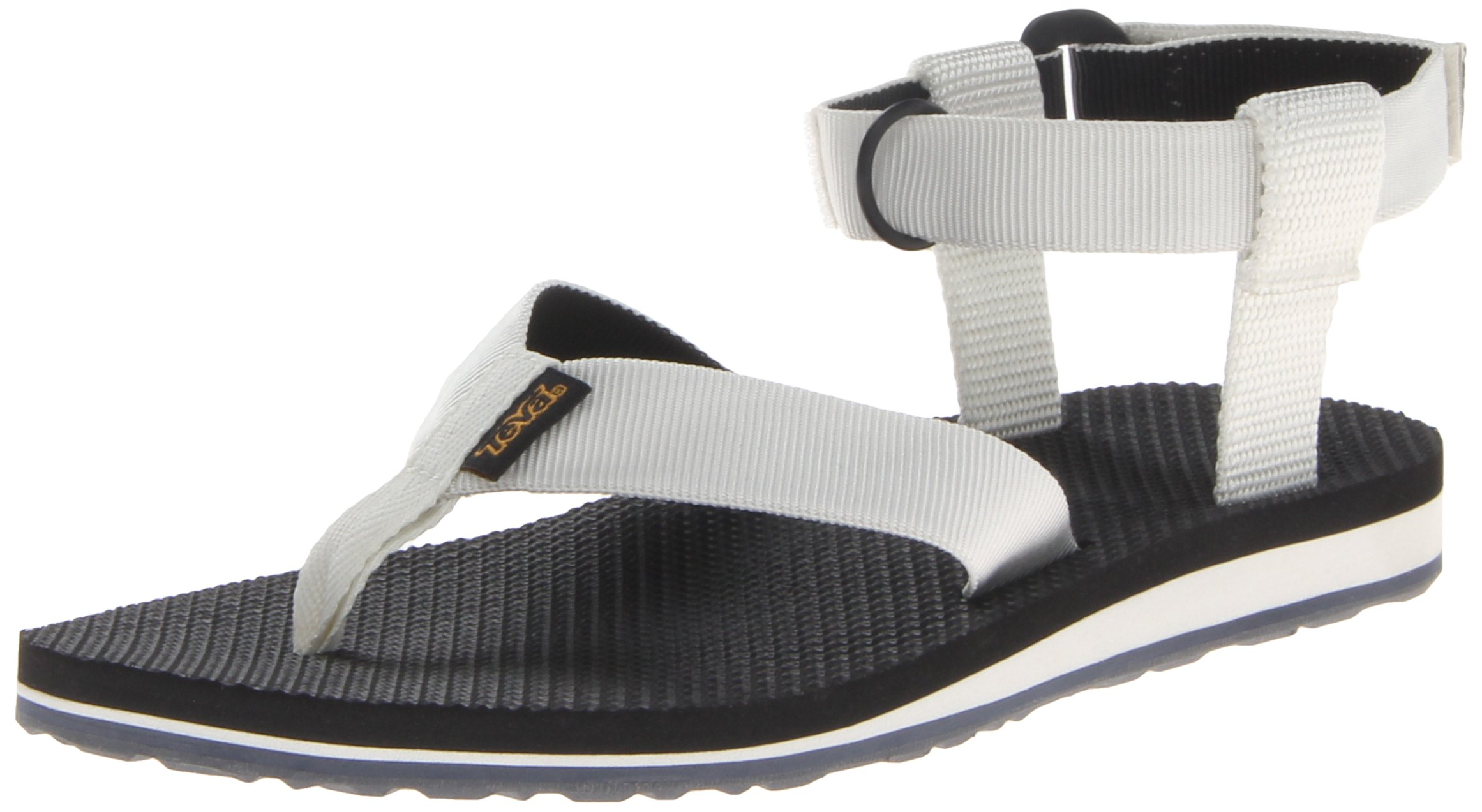 Teva Women's Original Sandal,White/Black,7 M US