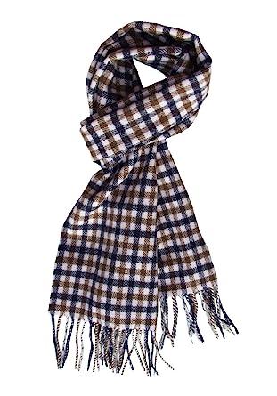 88599666e246f Aquascutum Club Check Scarf 100% Lambswool: Amazon.co.uk: Clothing