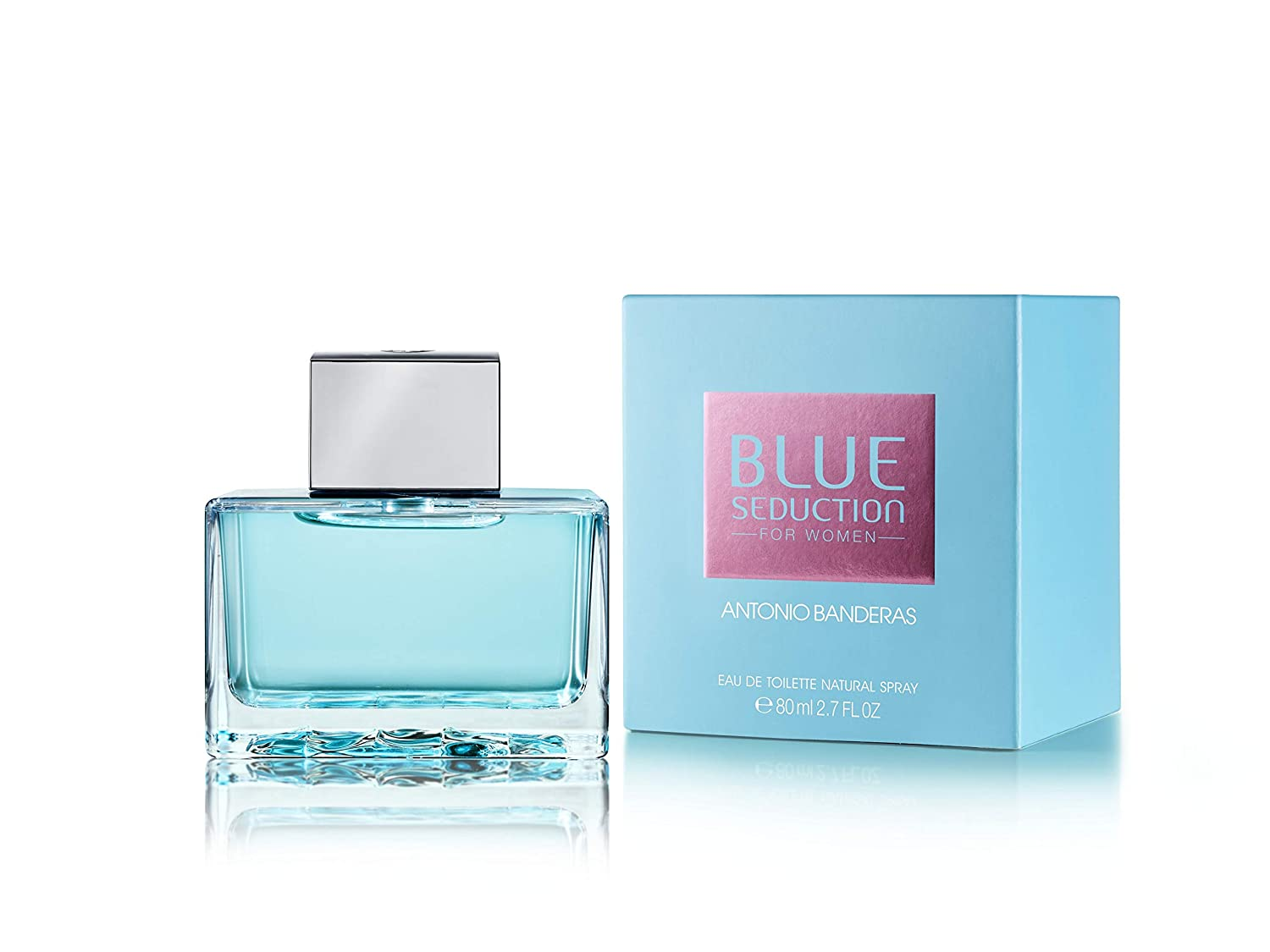 c6cb28c98 Amazon.com   Antonio Banderas Blue Seduction Eau De Toilette Spray for Women