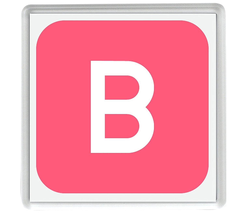 IamEngland Cuadrado Negativo Letra Latina mayúscula B Emoji 58mm x ...