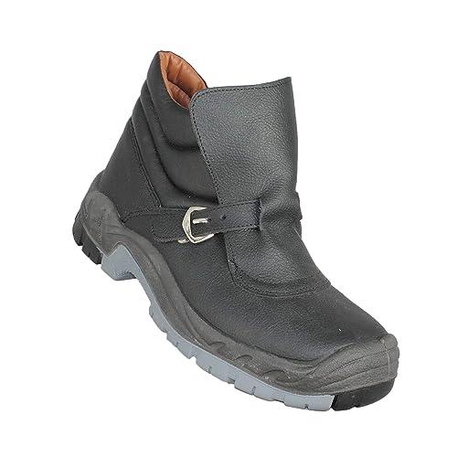 Zapatos de Trabajo Zapatos de Seguridad GSA Soldador Plus S3 HRO SRC Alta Negro B-Stock, Tamaño:42 EU: Amazon.es: Zapatos y complementos
