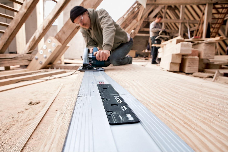 Bosch GKS 85 G Professional Handkreiss/äge in L-BOXX mit F/ührungsschiene FSN 1600 und HM-S/ägeblatt 235 mm /Ø