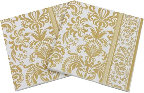 13x13 Inch, Dinner and Party Paper Luncheon Napkins 2-Ply Butterfly, 01 40 Count Paper Napkins Designed Butterfly Prints Cocktail Napkins Serviettes Napkins for Weeding