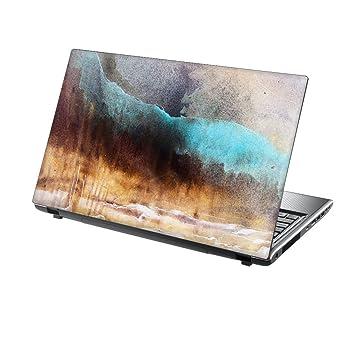 TaylorHe - Adhesivo de vinilo para ordenador portátil de 15,6 pulgadas con patrones coloridos y efecto piel laminado fabricado en Italia Colour Splash: ...