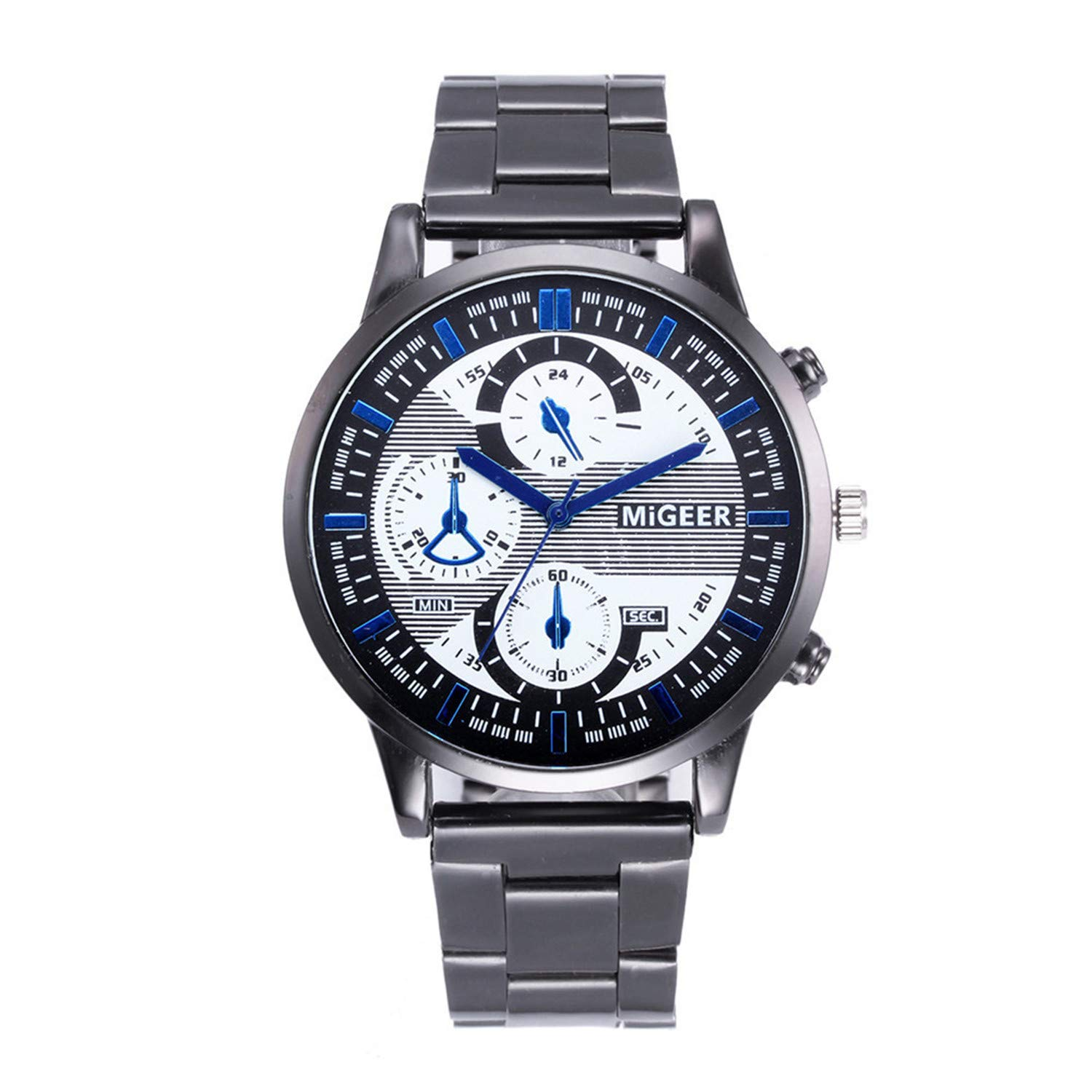 Amazon.com : freedomer Relogio Masculino Men Watches Luxury Famous Top Mens Fashion Casual Dress Watch Military Quartz Wristwatches reloj Mujer(A, ...