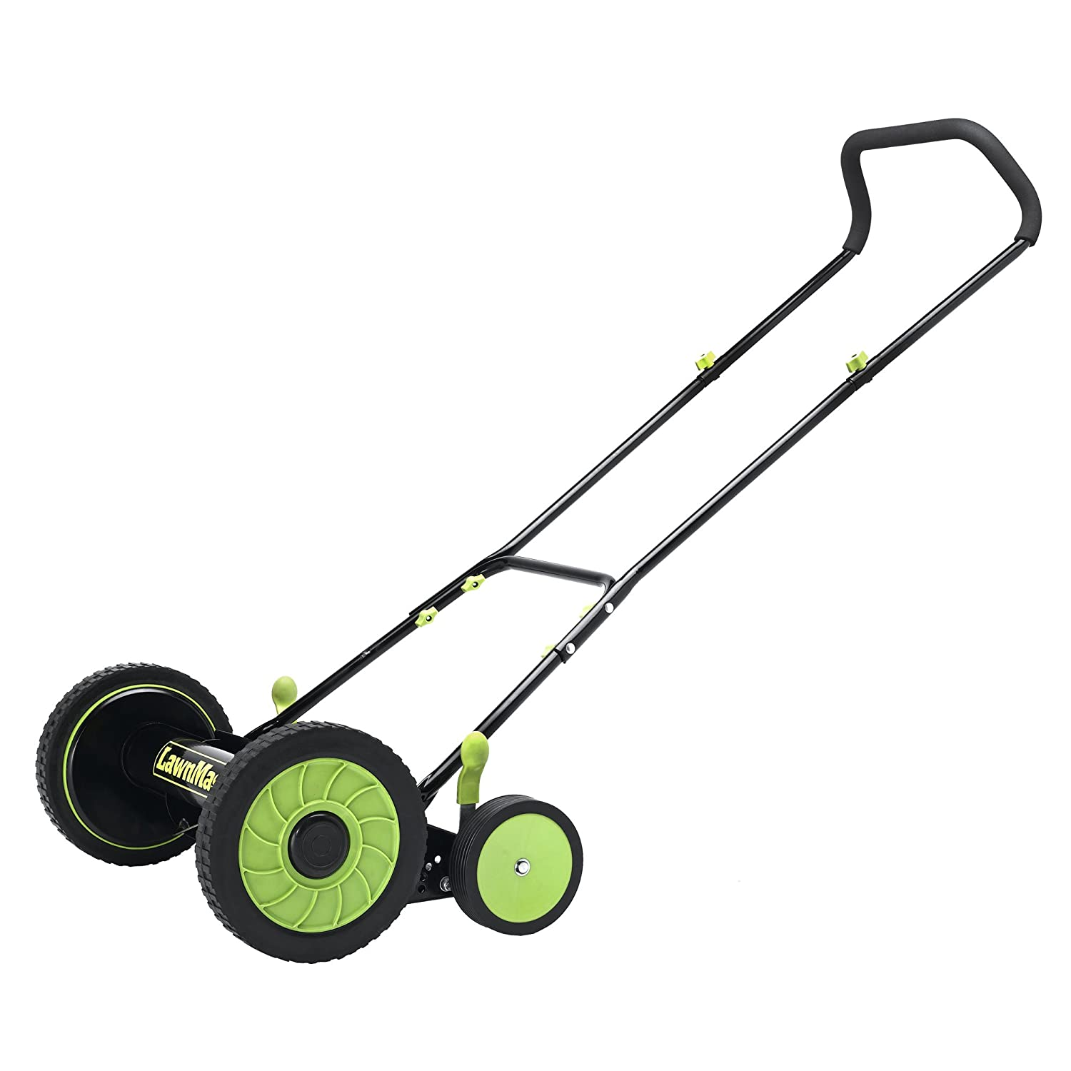 LawnMaster LMRM1601 Reel Mower, 16-Inch Cleva North America L&G