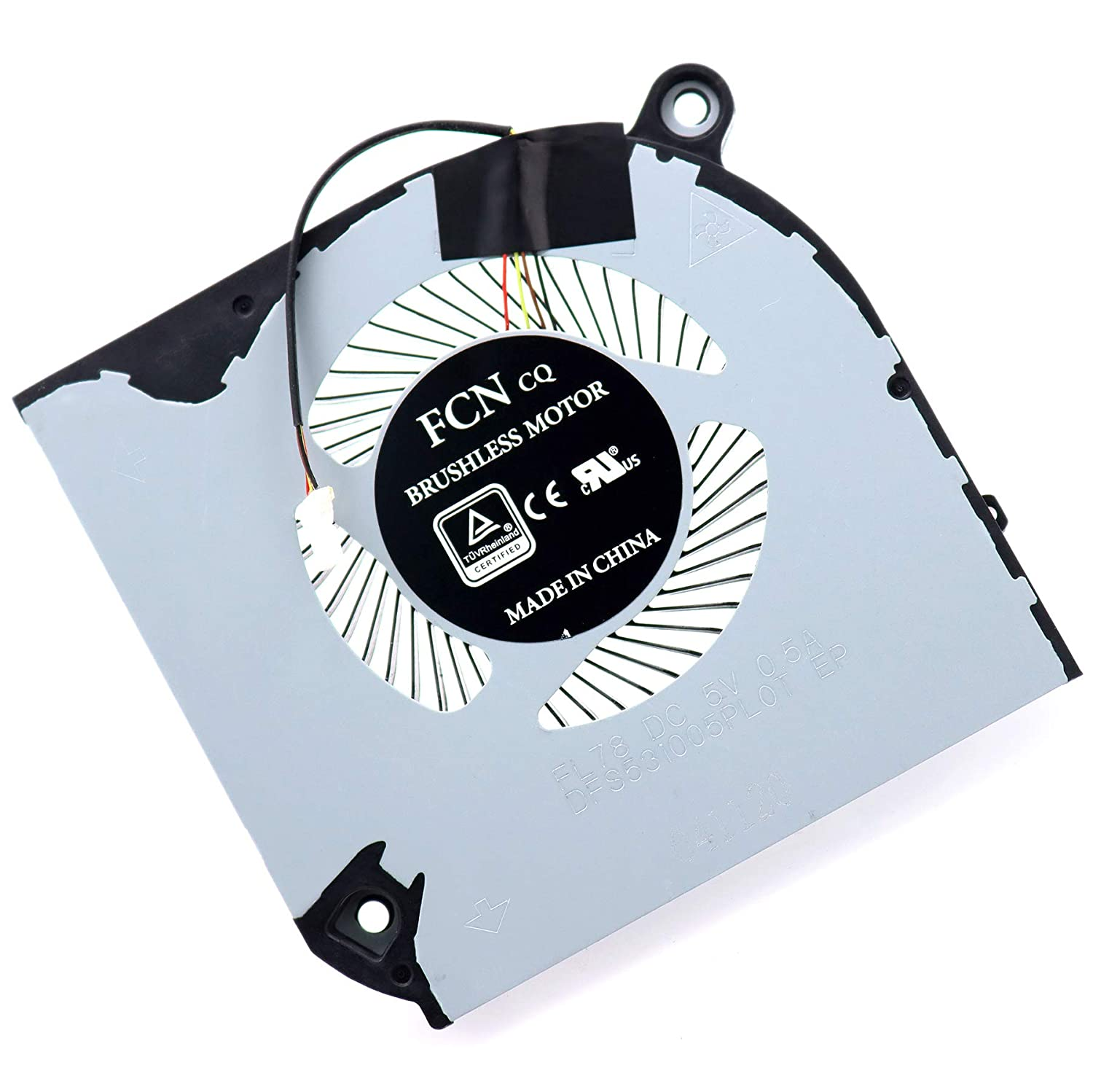 Deal4GO CPU Cooling Fan Left Side FL78 DFS531005PL0T Replacement for Acer Aspire Nitro 5 AN515-54 AN515-43 AN517-51 Nitro 7 AN715-51