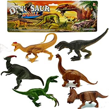 Action Figures Animals & Dinosaurs Bright Dinosaur Toy Figure Bundle