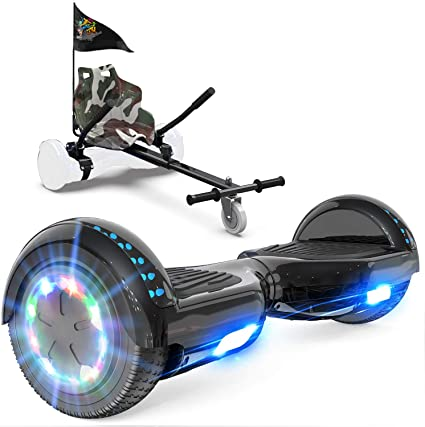 GeekMe Self Balancing Electric Scooter with Hoverkart Electric Hover Board