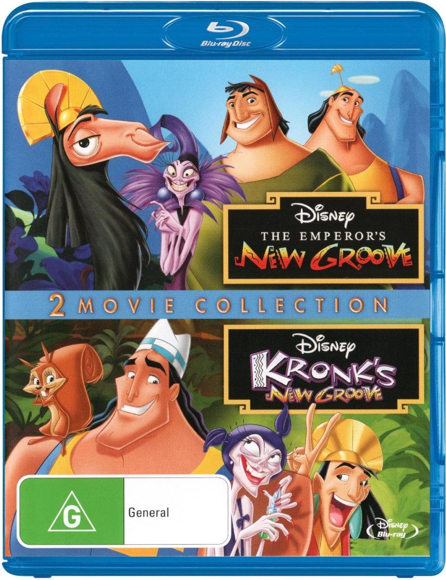 Emperors New Groove / Kronks New Groove - Disney Double Pack Blu ...