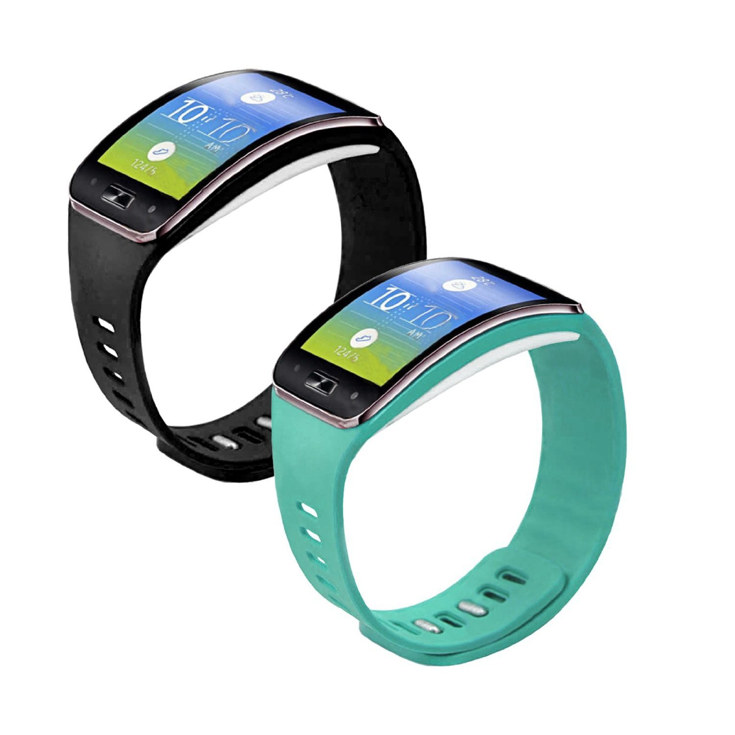 3 in1 Starter Kit para Samsung Gear S SM de r750,3 pcs suave TPU ...