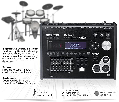 Roland TD-30K V-Pro Series Electronic Drum Kit