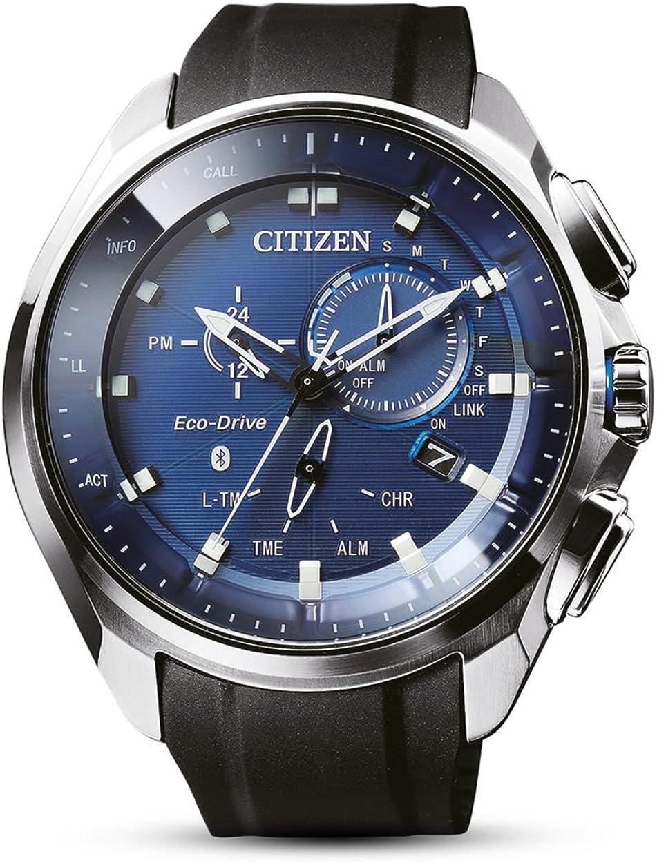 CITIZEN Reloj para Hombre de Energía Solar con Correa en Goma BZ1020-14L