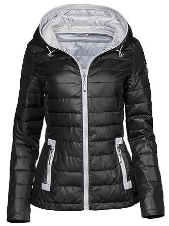 reputable site 10a45 94f2d Trisens - Giacca da donna per le mezze stagioni, leggermente trapuntata,  giacca primavera, giacca a vento