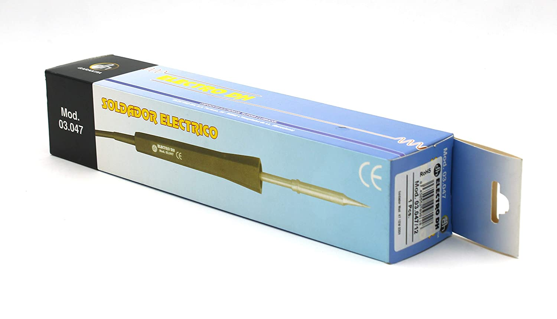 ElectroDH 304725 DH Soldador Mod. 47-25W 230V: Amazon.es: Bricolaje y herramientas