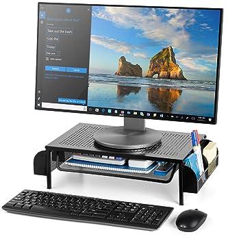 Amazon.com: Bextsware Soporte de metal para monitor de ...
