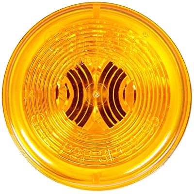 "Truck-Lite Model 30 Marker Light Yellow 2"" Round 30200Y: Automotive"