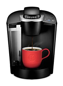 Keurig K55/K-Classic Coffee Maker, K-Cup Pod, Single Serve, Programmable, Black (Renewed)