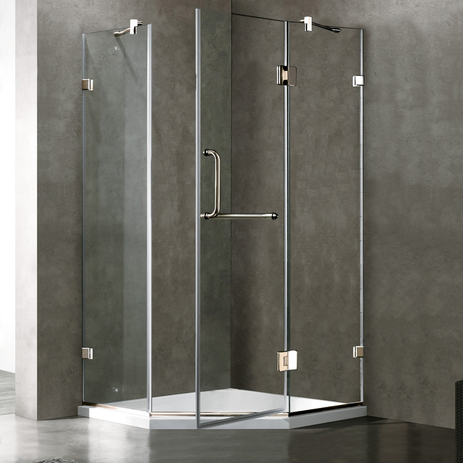 frameless dp vigo door clear home shower inch canada brushed with nickel amazon improvement tools glass and