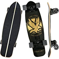 """B&S.LIN 27.5 """"x 8"""" Skateboard is a versatile skateboard that you can ride around and do stunts with. Complete assembled…"""
