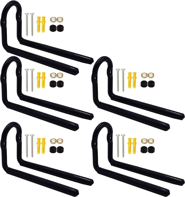 YYST Ski Wall Mount Ski Wall Holder Ski Storage Rack - No Skis and Poles - No Scratches