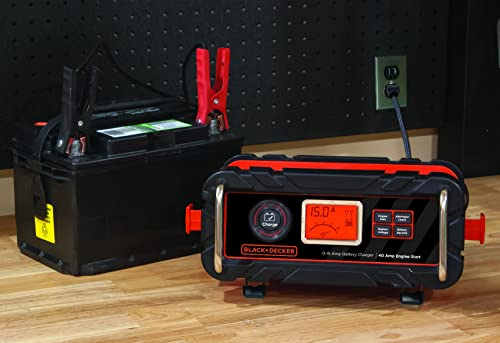 BLACK AND DECKER BC15BD is one of the best BLACK AND DECKER battery chargers