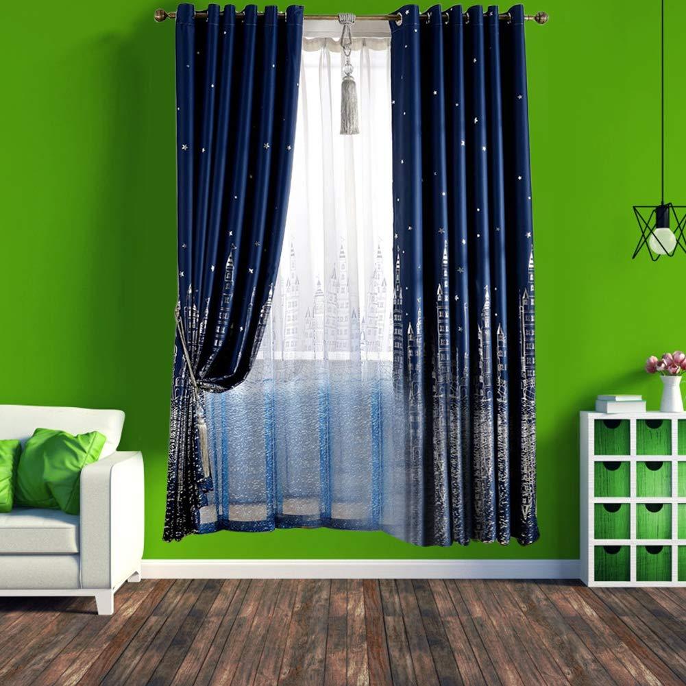 Tende Classiche E Drappeggi Wifehelper Tulle Curtain Panel Modern Minimalista Tende Oscuranti Per Soggiorno Camera Da Letto Home Decor Blu Casa E Cucina Aikidojo Fr
