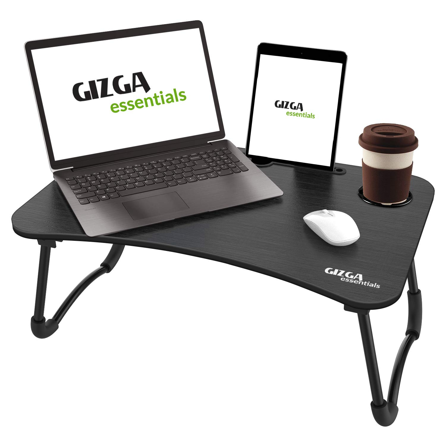 Smart Multi-Purpose Laptop Table with Dock Stand & Cup Holder