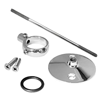 LASCO 03-5091 Shower Rod Ceiling Support with Bracket, 6-Inch ...