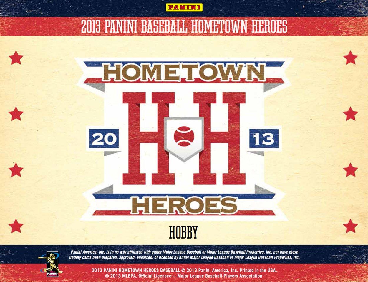 Panini America, Inc. 2013 Panini Hometown Heroes Baseball Trading Card Hobby Box