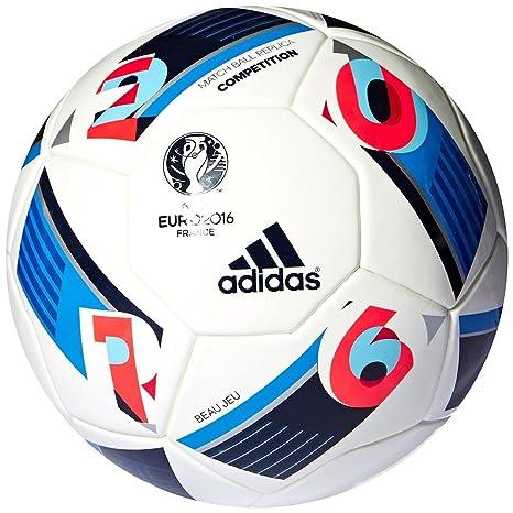 adidas Euro 16 Top Replique balón de fútbol: Amazon.es: Juguetes y ...