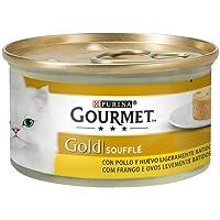 Purina - Gourmet Gold Soufflé Pollo - Pack de 24 x 85 g - Total 2040 g