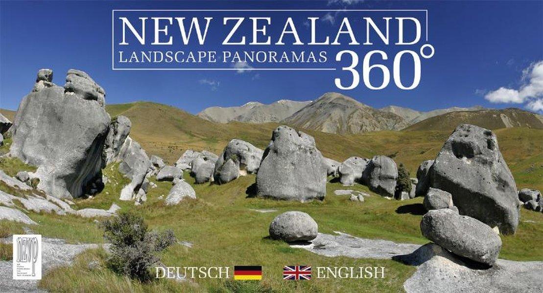 New Zealand 360 Degrees: Landscape Panoramas (English and German Edition) pdf epub