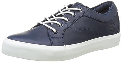 Timberland Flannery OxfordBlack, Sneakers Basses Femme, (Black Iris Escape), 38 EU